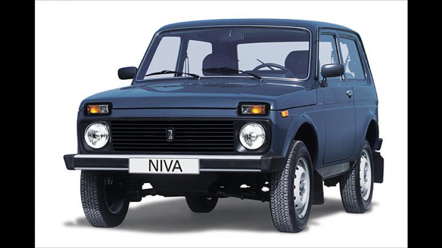 Lada Niva: Sondermodell mit Spar-Vorteil zum Geburtstag