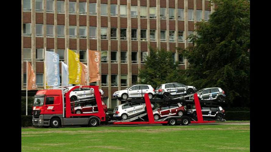Marktstart in Deutschland: Neuer VW Golf geht in den Handel
