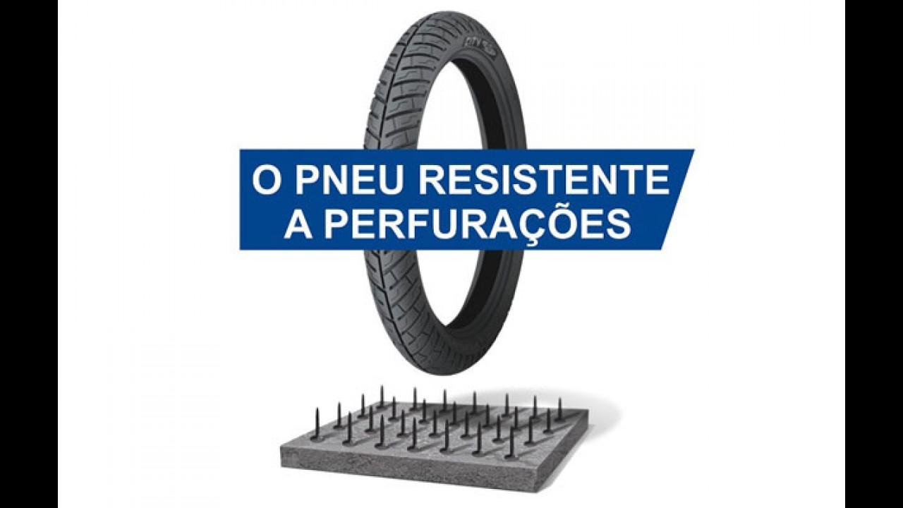 Michelin lança pneu 20% mais resistente a perfurações para motos de 125 e 150 cc