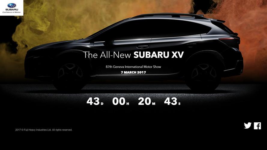 Subaru XV 2017 será revelado ao mundo em Genebra