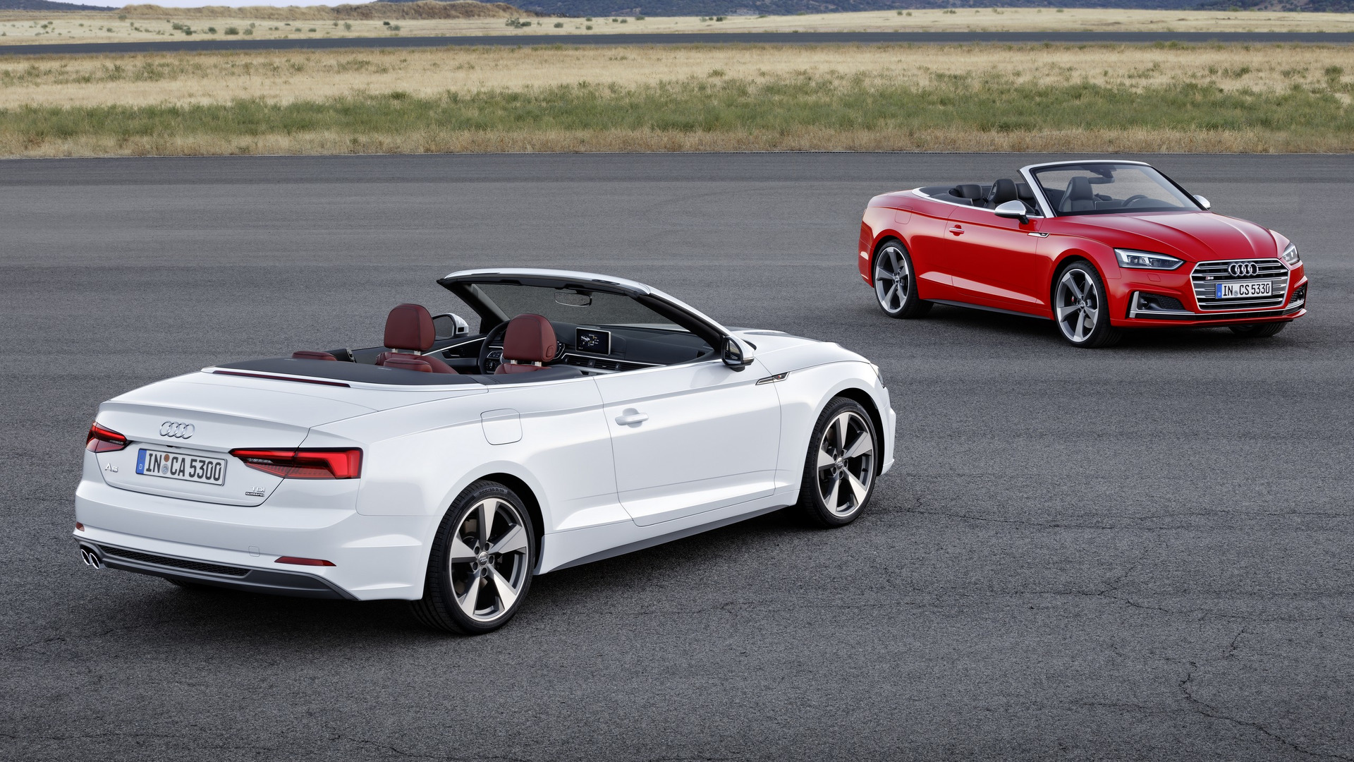 2017 audi a5 s5 cabriolet debuts with oh so familiar design. Black Bedroom Furniture Sets. Home Design Ideas