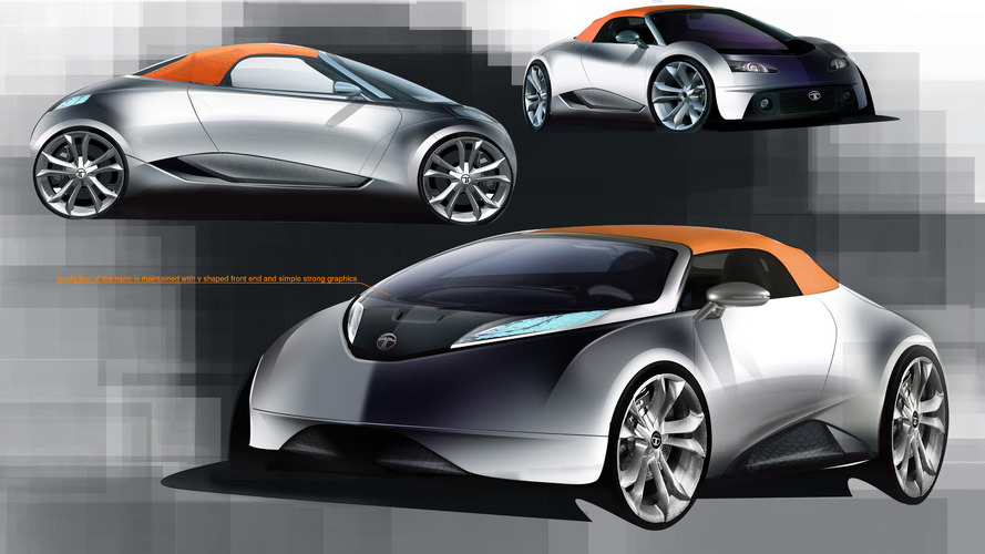 Tata Subbrands Rumored Sports Car Concept May Change Lowcost Image - Sports car cost