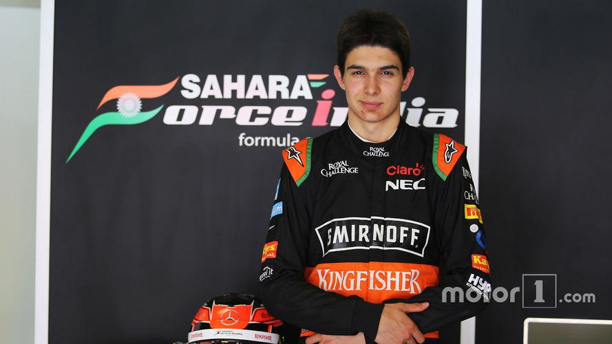 Formule 1 - Esteban Ocon rejoint Force India pour 2017