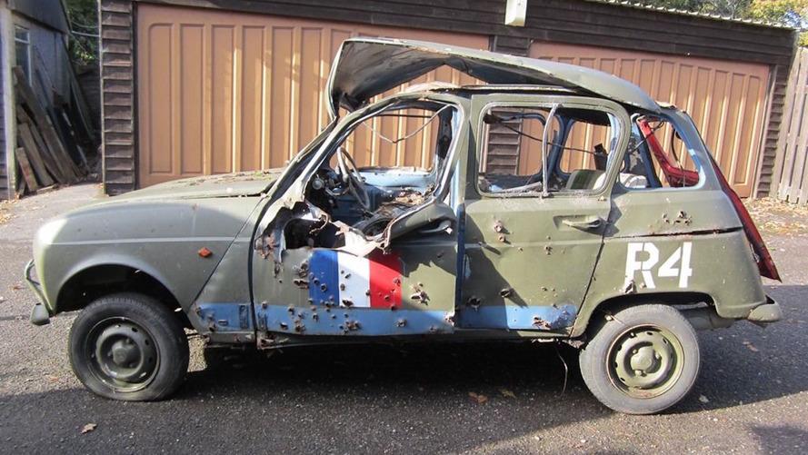 Top Gear'ın savaşa hazır Renault'su eBay'de ve teslim olmaya hazır değil
