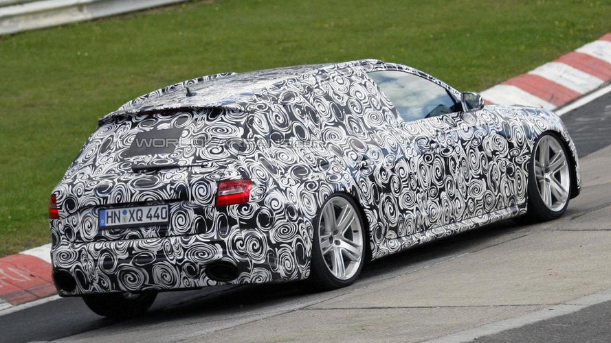 2012 Audi RS4 Avant spied at the Nürburgring