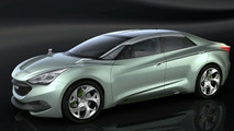 Hyundai  i-flow (HED-7) Concept First Photo - 650 - 24.02.2010