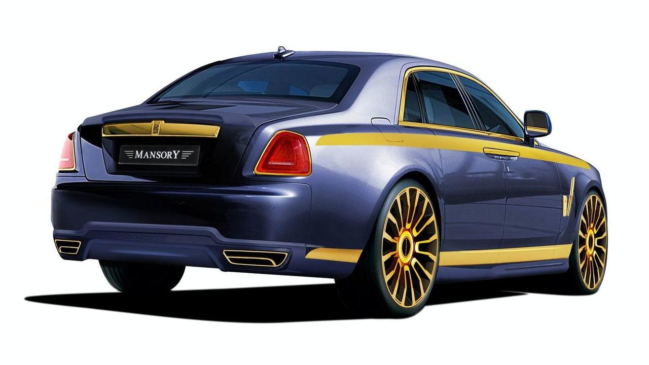 Mansory Rolls Royce Ghost 03.03.2010