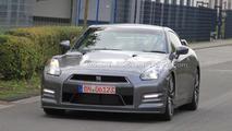 2012 Nissan GT-R facelift spy photo, 1600, 29.09.2010