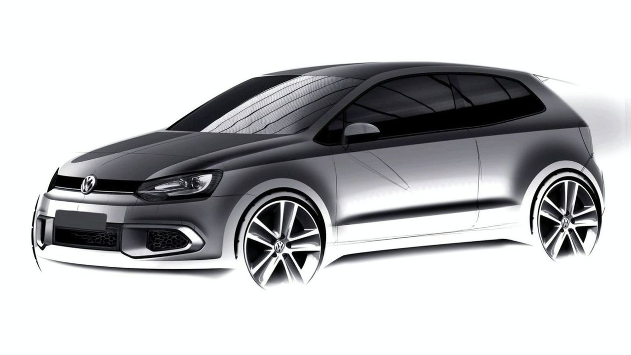 2010 vw polo 3 door design sketch photo. Black Bedroom Furniture Sets. Home Design Ideas