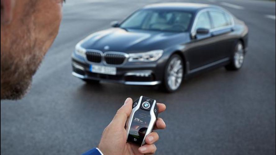 Nuova BMW Serie 7, la chiave delle meraviglie