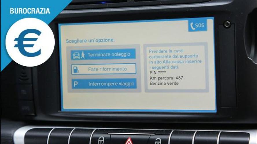 Car sharing, sei dritte per utilizzare l'auto condivisa