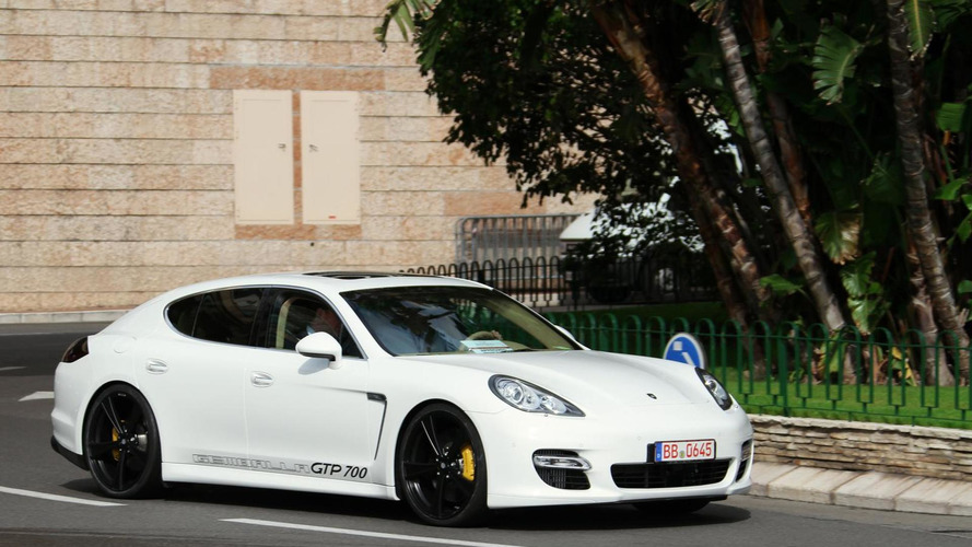 Gemballa's Panamera hits 338.8 km/h, becomes fastest sedan over two tons [video]
