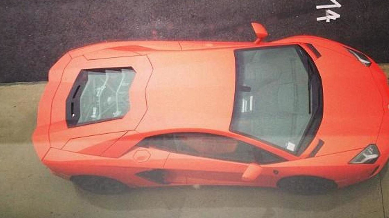 Lamborghini Aventador before crash