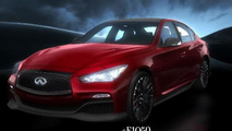 2014 Infiniti Q50 Eau Rouge concept screenshot