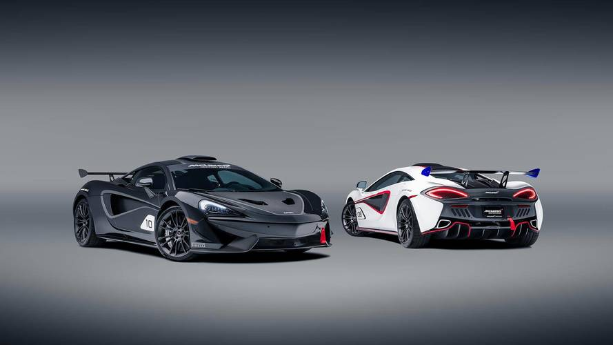 McLaren MSO X: Just 10 cars inspired by the McLaren 570S GT4