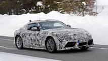 Toyota Supra 2018 fotos espia