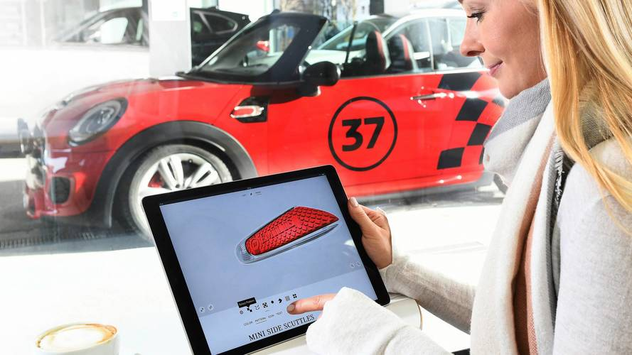 MINI Introduces Personalised 3D Printed Components For Customers