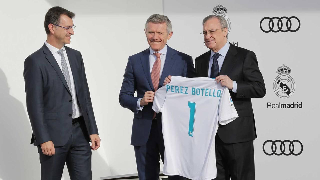 Partenariat entre le Real Madrid et Audi