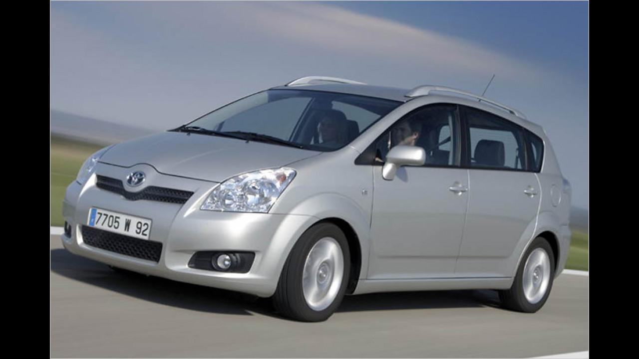 Die besten Autos bis 11 Jahre: Toyota Corolla Verso