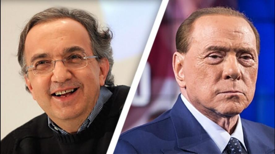 Marchionne Presidente del Consiglio, l'idea di Berlusconi