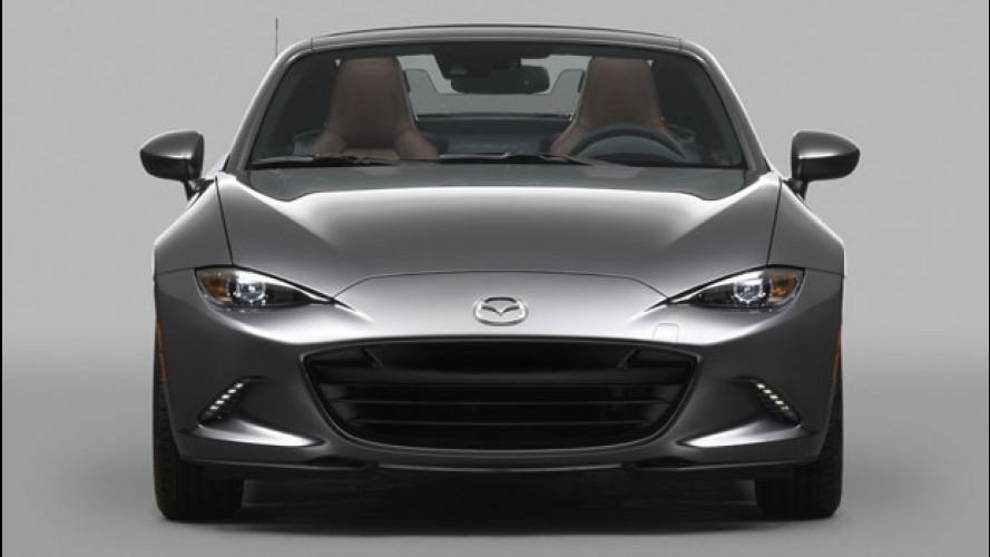 Mazda MX-5 RF, debutto Europeo al Festival di Goodwood