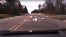 2017 Lincoln Continental head up display