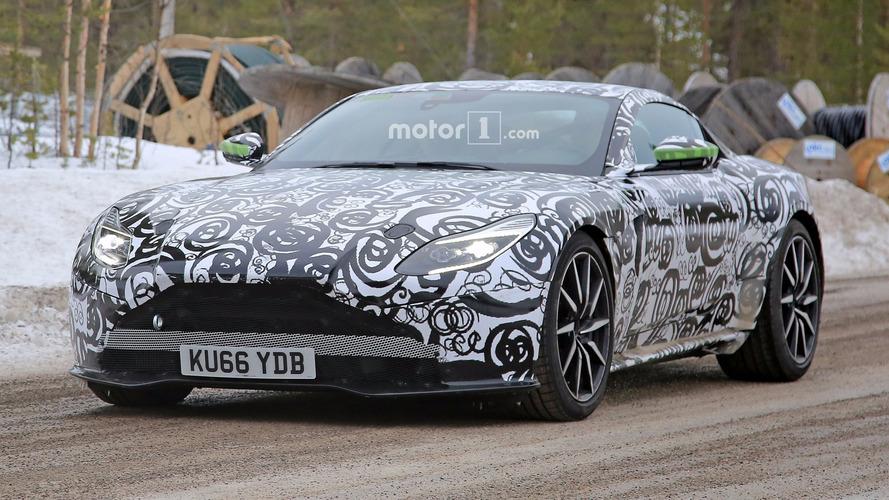 Aston Martin DB11 S, primeras fotos espía