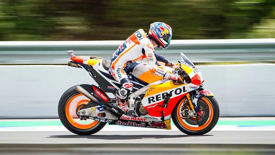 Pedrosa lidera primeira fila da Honda em Jerez; Rossi é 7º