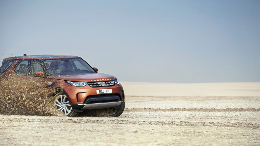 More than 4,000 UK orders for 2017 Land Rover Discovery