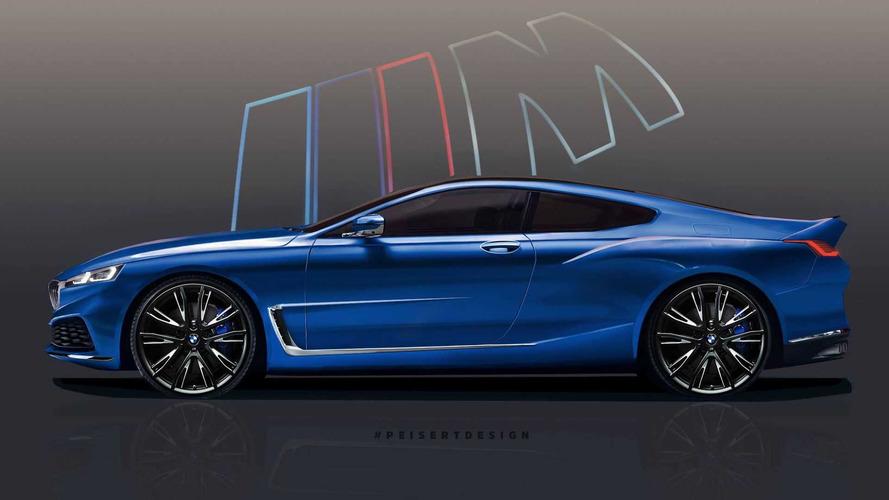 BMW 8 Serisi'nin şekil almasını izleyin