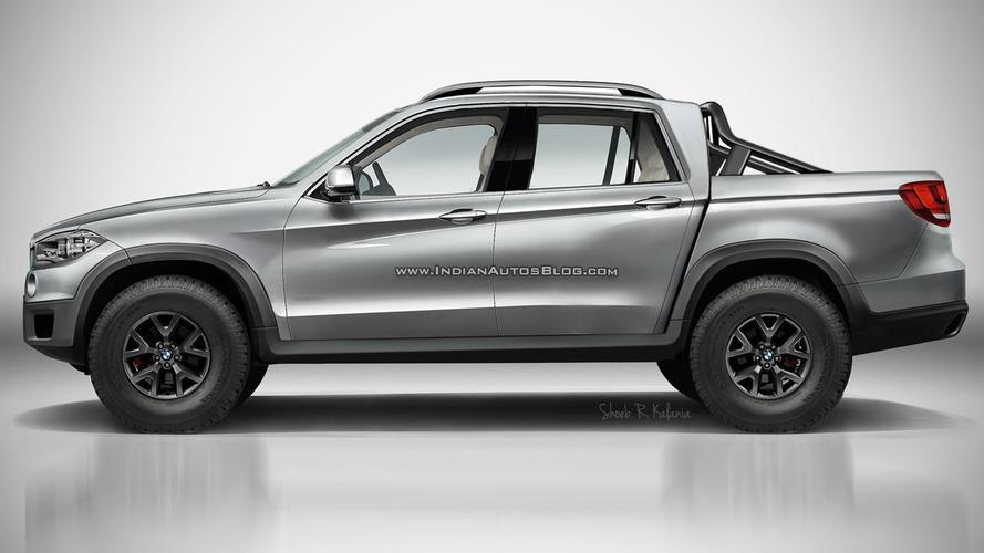 BMW'nin lüks pickup'ı son derece şık