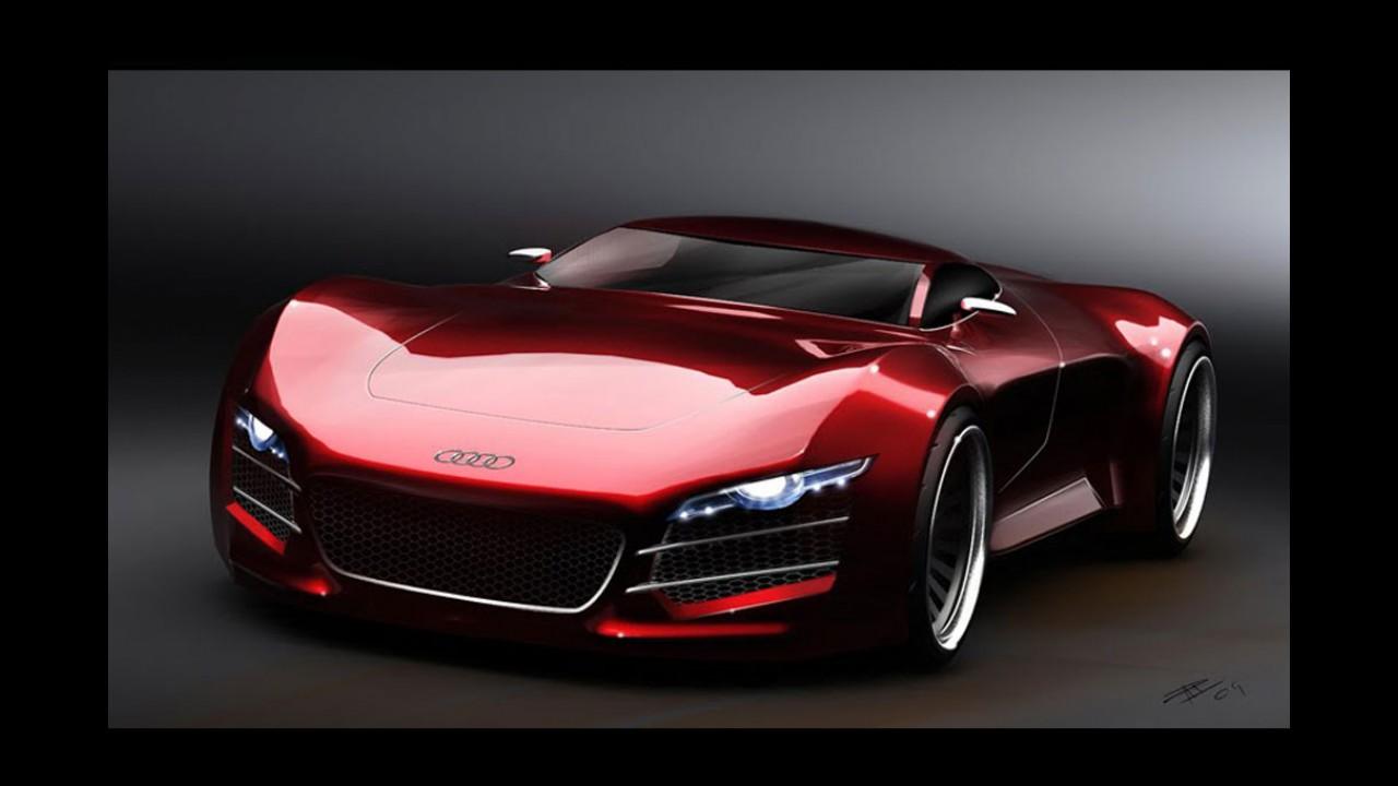Novo superesportivo da Audi, R10 será apresentado em Frankfurt
