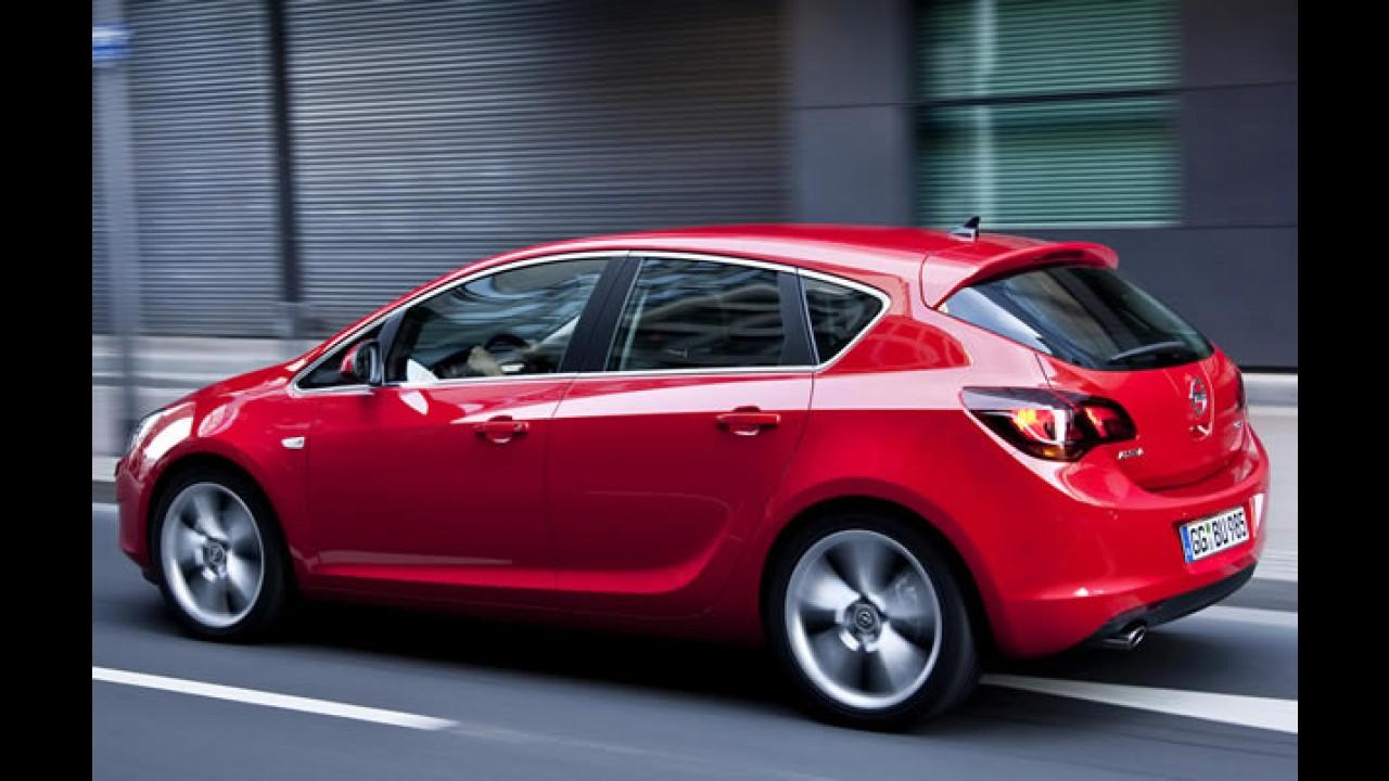 Opel Astra ganha sistema Stop&Start na Espanha - Consumo chega a 25,6 km/litro