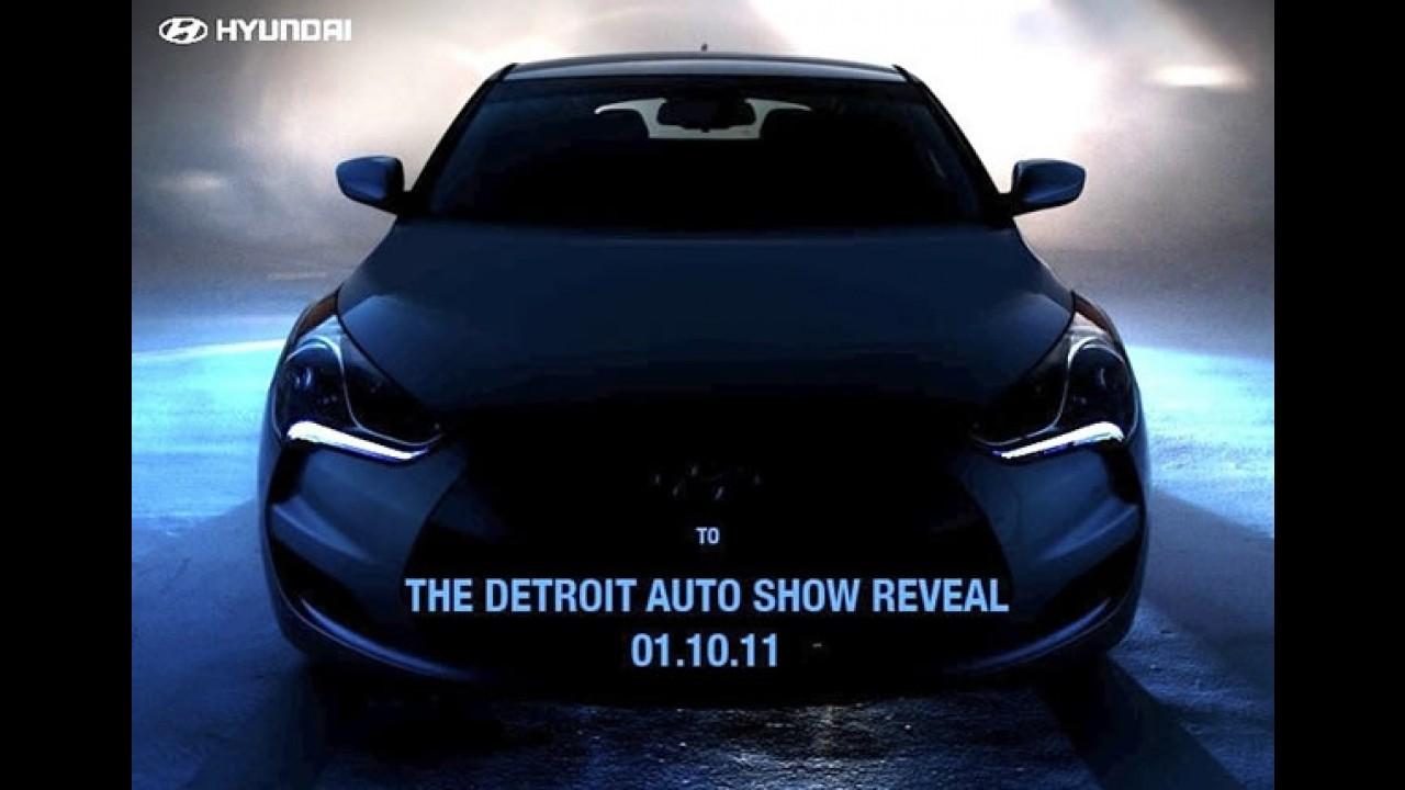 VÍDEO: Hyundai divulga 1º teaser oficial do Veloster