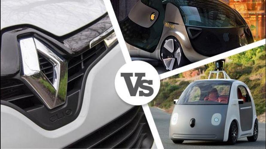 Per Renault, Apple e Google non saranno costruttori di auto