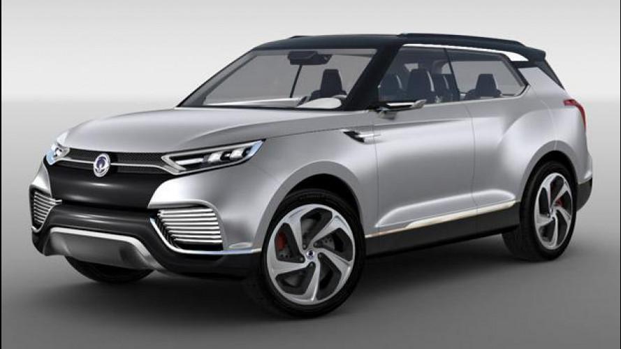 SsangYong XLV concept, studio per un SUV da città