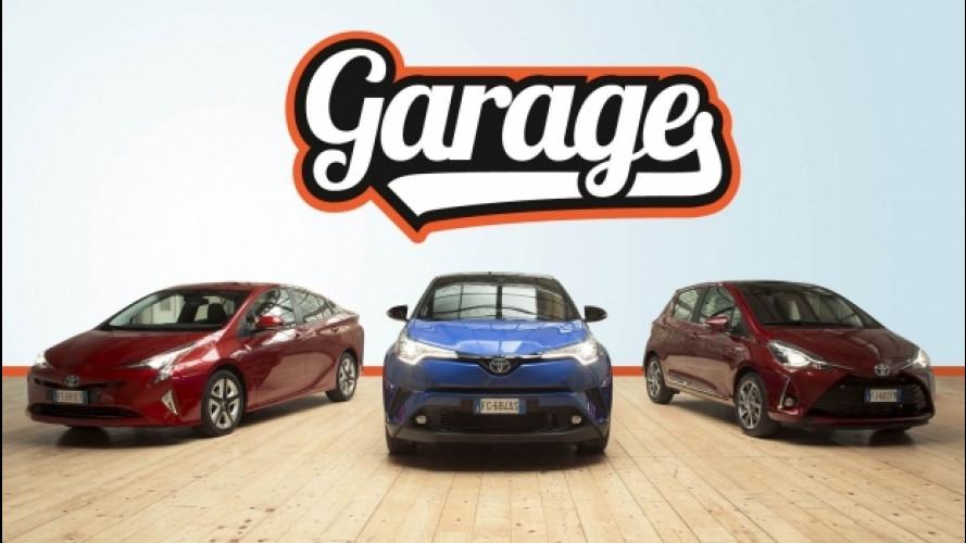 L'ibrido Toyota alla prova con Prius, Yaris e C-HR [VIDEO]
