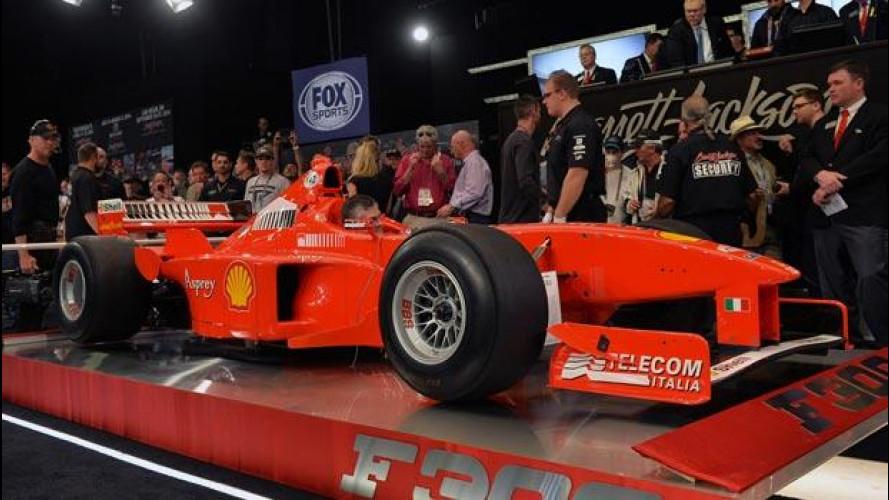 Michael Schumacher: 1,7 milioni di dollari per la sua Ferrari