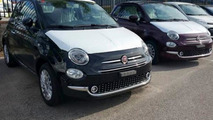 Fiat 500 facelift spy photo / Ferd on Facebook