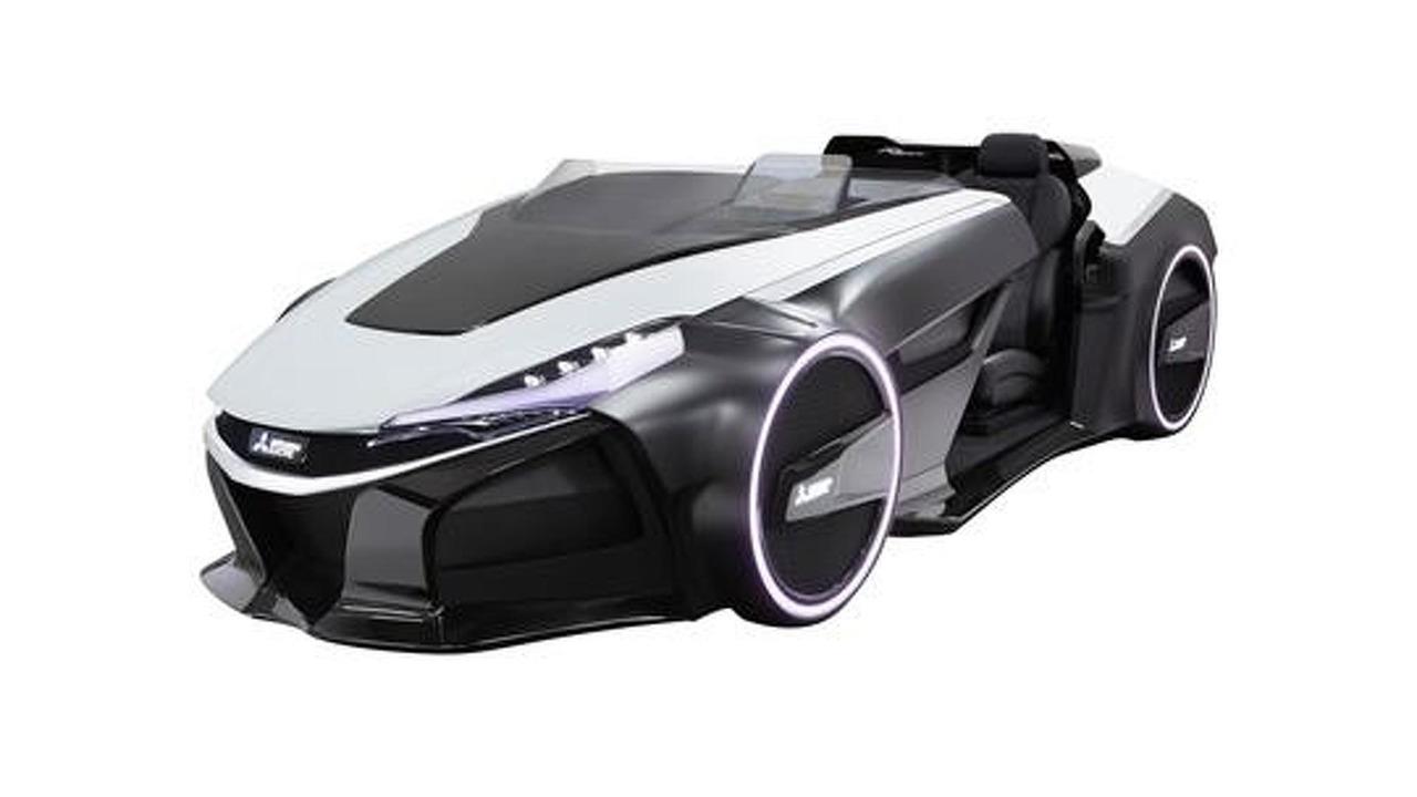 Mitsubishi EMIRAI 3 xDAS concept