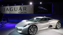 Jaguar C-X75 production announcement 06.05.2011