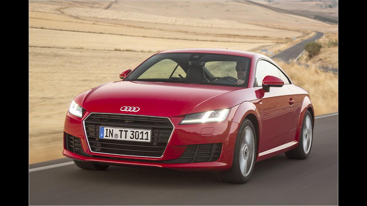 Sportwagen: Audi TT als Bestseller