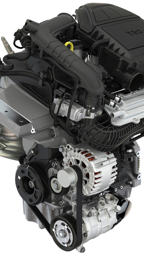 Skoda Fabia 2017 1.0 TSI de tres cilindros