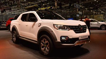 Renault'nun yeni pick-up'ı Alaskan Cenevre'de tanıtıldı