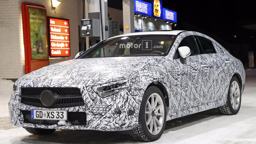 2018 Mercedes CLS spy photos