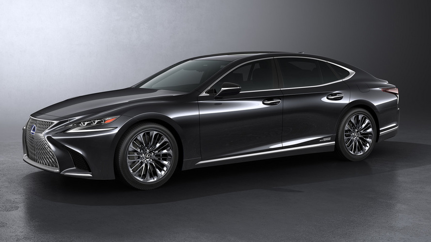 2018 Lexus LS 500h is for the eco-conscious luxury saloon buyer