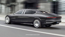 2020 Mercedes-Maybach 850 Landaulet Rendering
