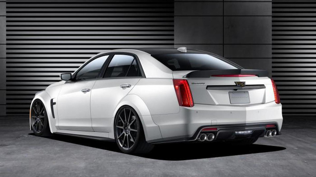 Hennessey's upcoming Cadillac CTS-V aims to be the fastest four-door