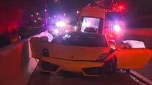 Lamborghini Gallardo accident