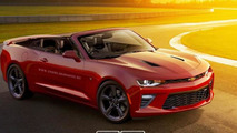Chevrolet Camaro Convertible render